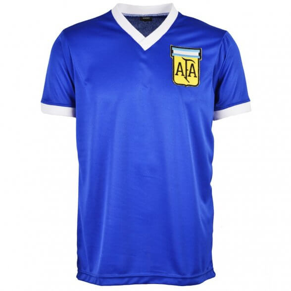 Camisola retro Argentina 1986   Away