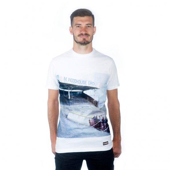 Preston North End Terraces T-Shirt   White
