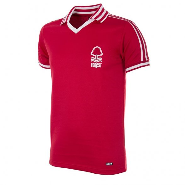 Camisola retro Nottingham Forest 1976/77