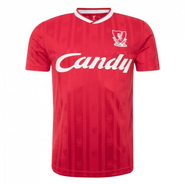 Camisola Liverpool 1988/89