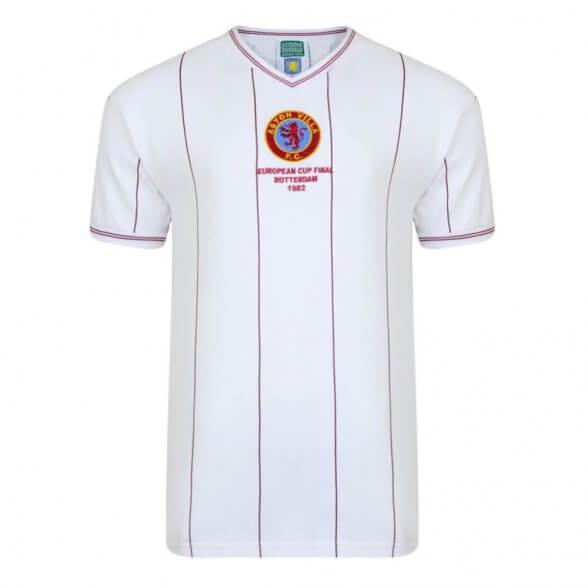 Camisola retro Aston Villa 1982 Campeões Europeus