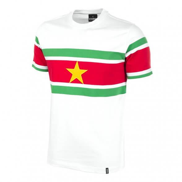 Camisola retro Suriname anos 80