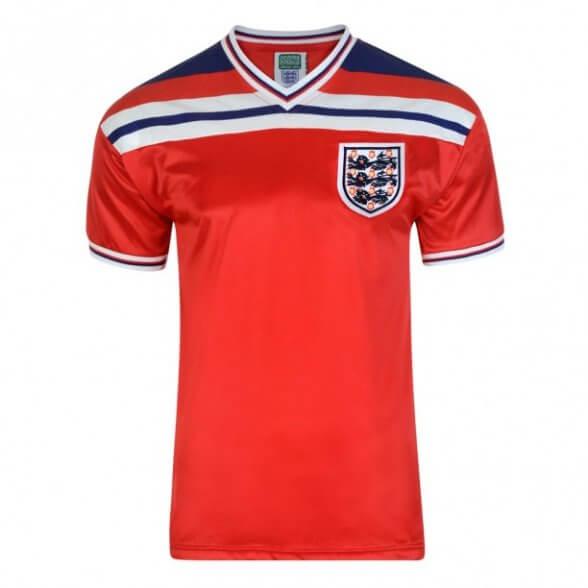 Camisola retro Inglaterra 1982 - Away