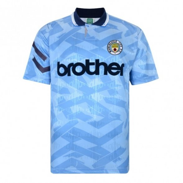 Camisola retro Manchester City 1992