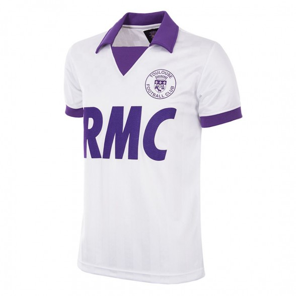 Camisola FC Toulouse 1986/87 UEFA CUP