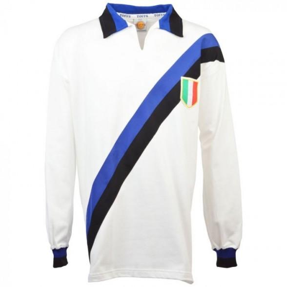 Inter Milan Retro Jersey Scudetto 1963/1964 branco