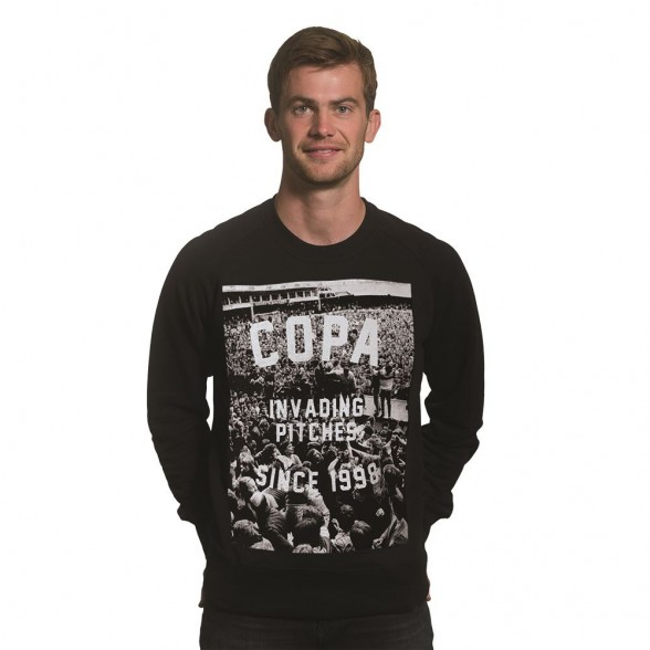 Invading Pitches Since 1998 Sweater   Black