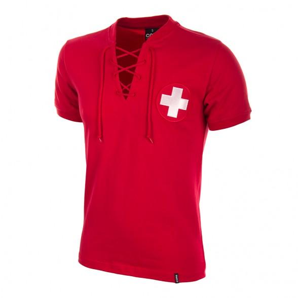Camisola retro Suíça Copa 1954
