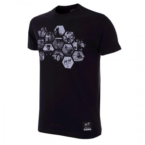 George Best Hexagon T-Shirt