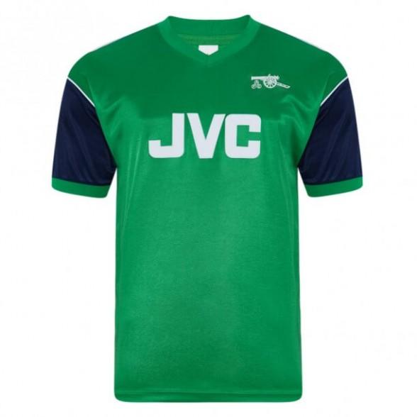 Camisola retro Arsenal 1982 Away Verde