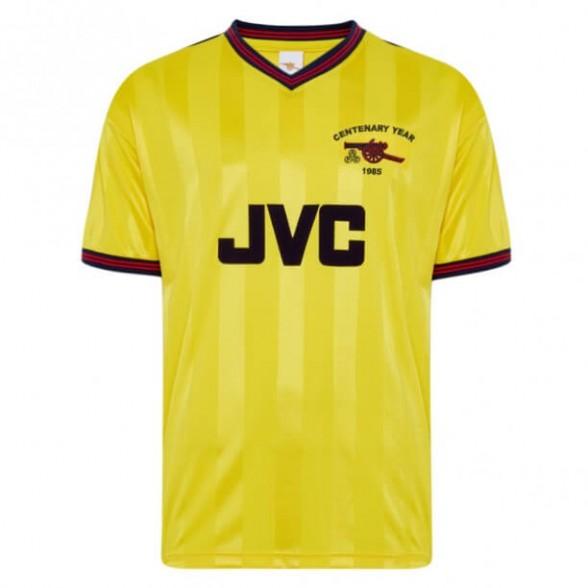 Camisola retro Arsenal 1985-86 Away Centenário