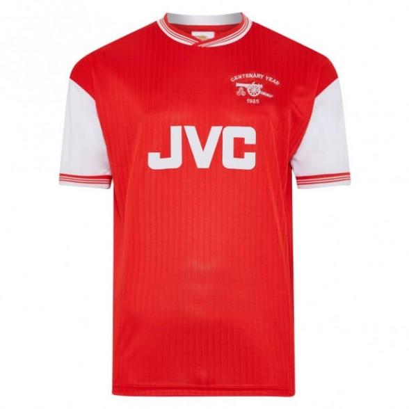Camisola retro Arsenal 1985-86 Centenário