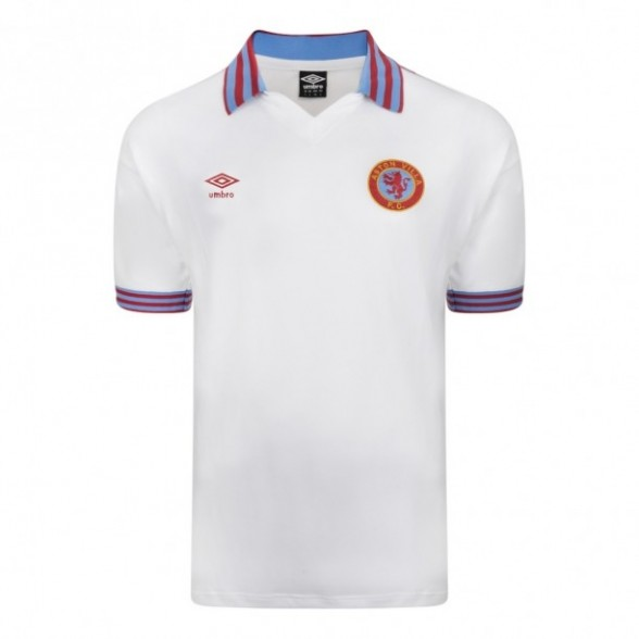 Camisola retro Aston Villa 1980 Away