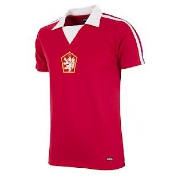 Camisola da Checoslováquia 1976