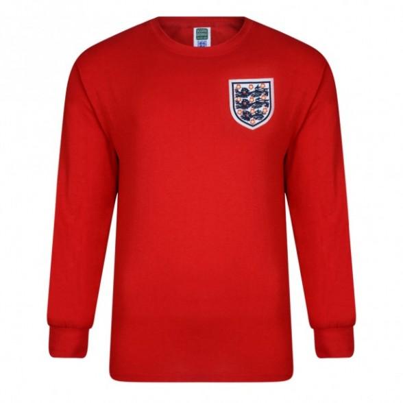 Camisola retro Inglaterra 1966