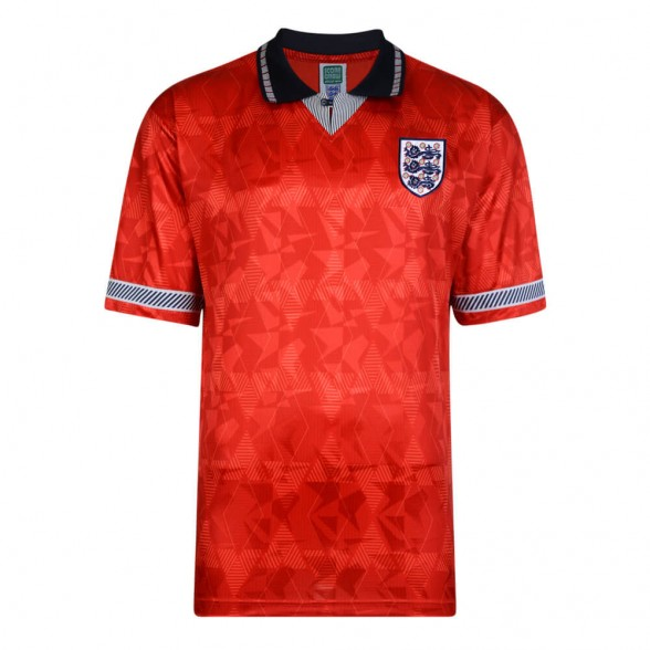 Camisola retro Inglaterra 1990 Away