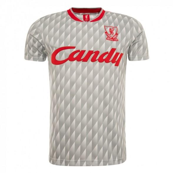 Camisola Liverpool 1989/90 | Away