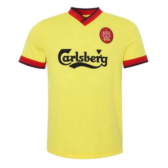 Camisola retro Liverpool FC 1997-98 Amarelo Away