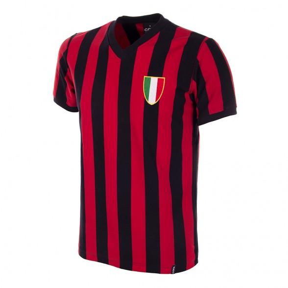 Camisola retro Milan anos 60