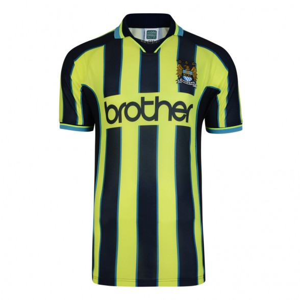 Camisola Manchester City 1999 Wembley