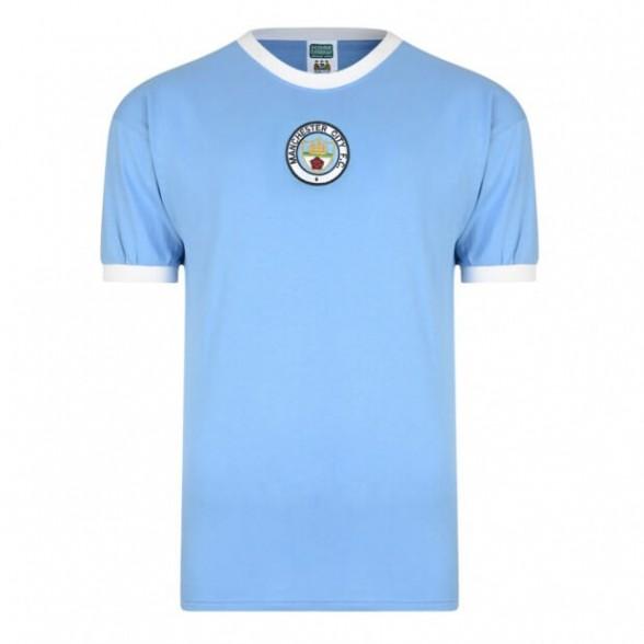 Camisola retro Manchester City 1972