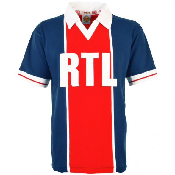 Camisola retro Paris 1981-82