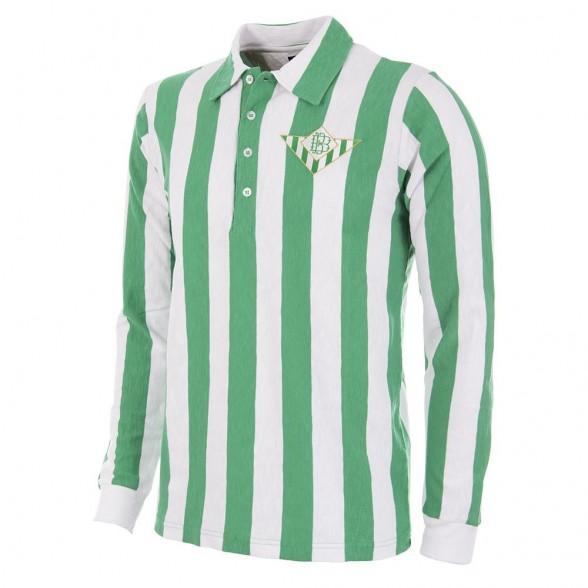 Real Betis 1934 - 35 Camisola de Futebol Retro