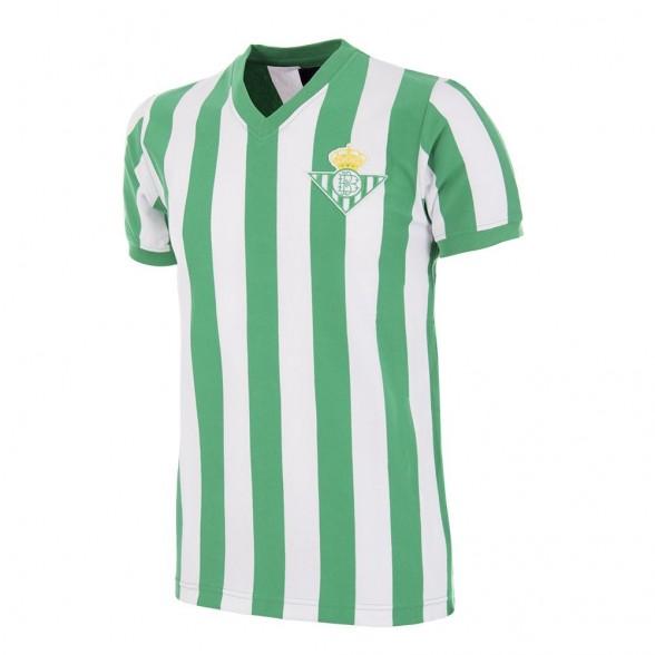 Real Betis 1976 - 77 Camisola de Futebol Retro