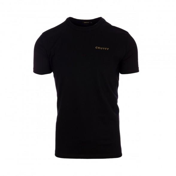 T-Shirt Cruyff 14 Preto / Ouro