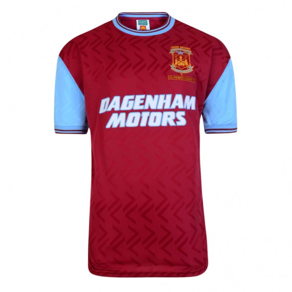 Camisola retro West Ham 1994. Bobby Moore Memorial Match 7/03/1994.