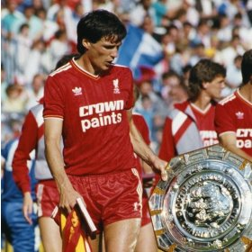 Camisola Liverpool 1986 FA Cup Winners