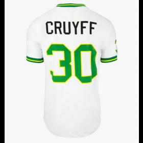 T-Shirt Cruyff 14 Branco / Ouro