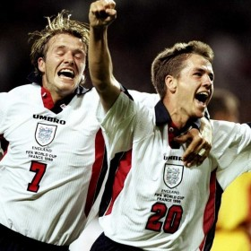 Camisola retro Inglaterra 1998