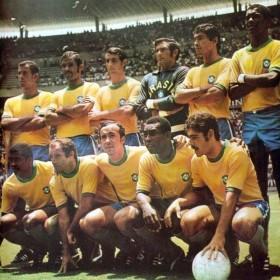 Camisola retro Brazil WC 1970 Retro Shirt