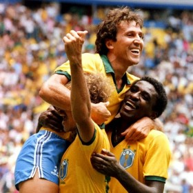 Camisola retro Brasil 1986