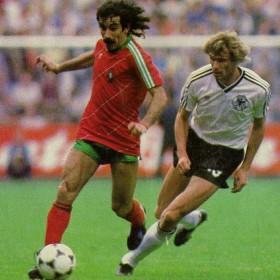 Camisola retro Portugal 1984