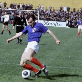 Camisola retro França 1968 Jogos Olimpicos