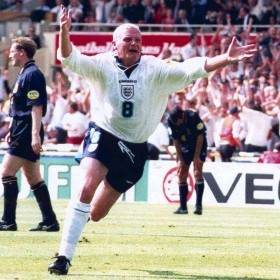 Camisola retro Inglaterra 1996