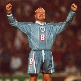 Camisola retro Inglaterra 1996 Away