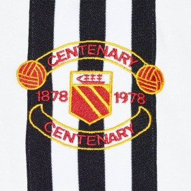 Camisola retro Manchester United 1978 Centenary Away