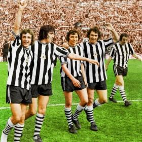Newcastle United 1974 retro shirt product photo