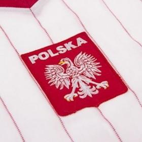 Camisola retro Polônia anos 70 Away