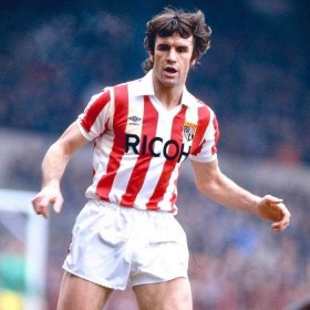 Camisola retro Stoke City FC 1981-83