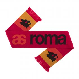 AS Roma Retro Scarf Red