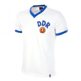 Camisola retro DDR reserva Copa 1974