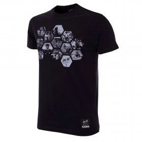 George Best Hexagon T-Shirt