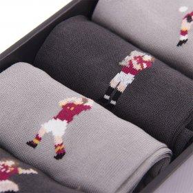 Detail AS Roma Casual Socks Box Set