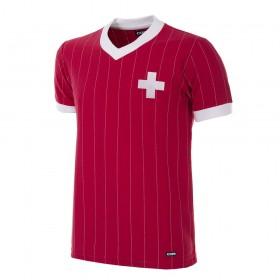 Camisola retro Suíça Copa 1982