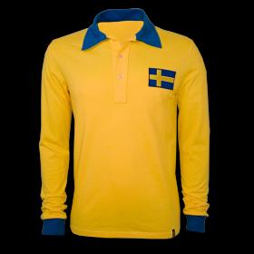 Camisola retro Suécia Copa 1958