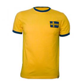 Camisola retro Suécia anos 70